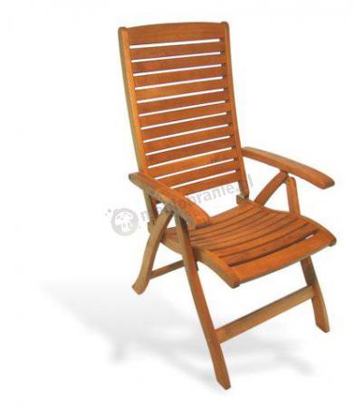Fotel ogrodowy składany