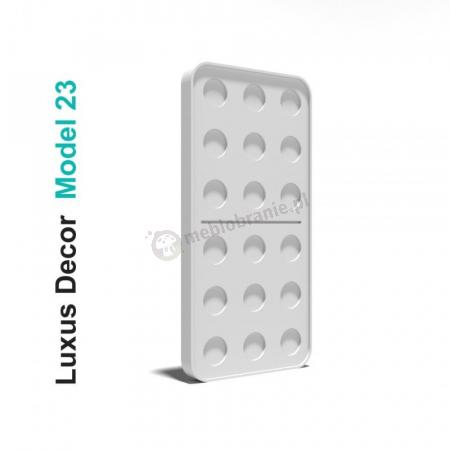 Panele gipsowe 3D - Luxus Decor Model 23