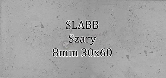 Beton architektoniczny - SLABB Szary 8mm 30x60cm
