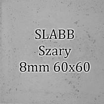 Beton architektoniczny - SLABB Szary 8mm 60x60cm