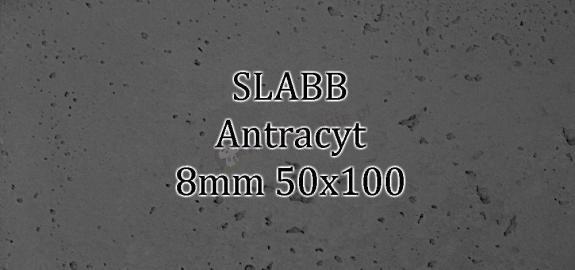 Beton architektoniczny - SLABB Antracyt 8mm 50x100cm
