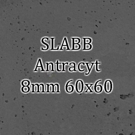 Beton architektoniczny - SLABB Antracyt 8mm 60x60cm
