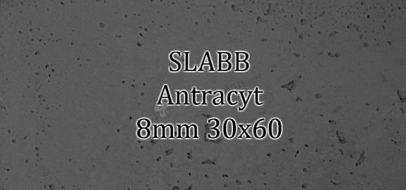 Beton architektoniczny - SLABB Antracyt 8mm 30x60cm
