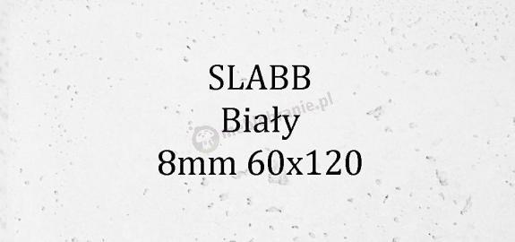 Beton architektoniczny - SLABB Biały 8mm 120x60cm