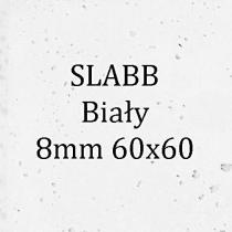 Beton architektoniczny - SLABB Biały 8mm 60x60cm