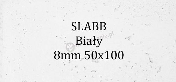 Beton architektoniczny - SLABB Biały 8mm 50x100cm