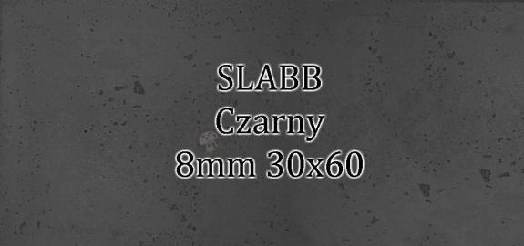 Beton architektoniczny - SLABB Czarny 8mm 30x60cm