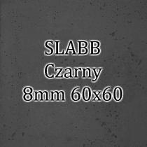 Beton architektoniczny - SLABB Czarny 8mm 60x60cm