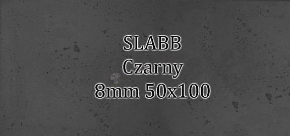 Beton architektoniczny - SLABB Czarny 8mm 120x60cm