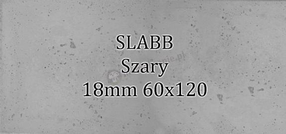 Beton architektoniczny - SLABB Szary 18mm 120x60cm