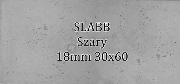 Beton architektoniczny - SLABB Szary 18mm 30x60cm