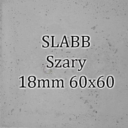 Beton architektoniczny - SLABB Szary 18mm 60x60cm