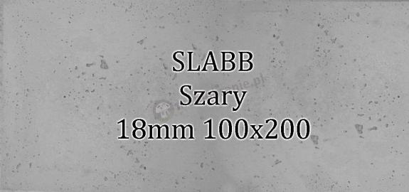Beton architektoniczny - SLABB Szary 18mm 100x200cm