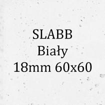 Beton architektoniczny - SLABB Biały 18mm 60x60cm