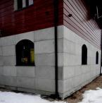 Beton architektoniczny - SLABB Biały 18mm 120x60cm