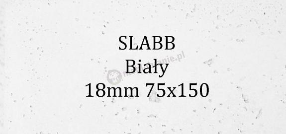 Beton architektoniczny - SLABB Biały 18mm 75x150cm
