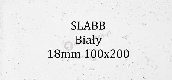Beton architektoniczny - SLABB Biały 18mm 100x200cm
