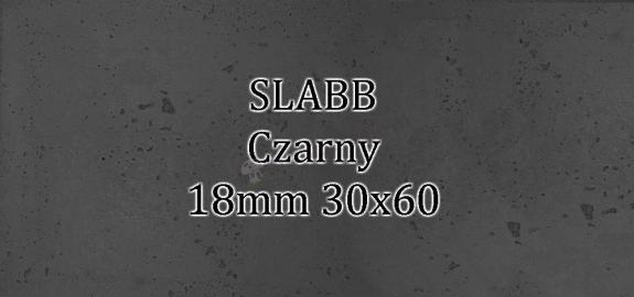 Beton architektoniczny - SLABB Czarny 18mm 30x60cm