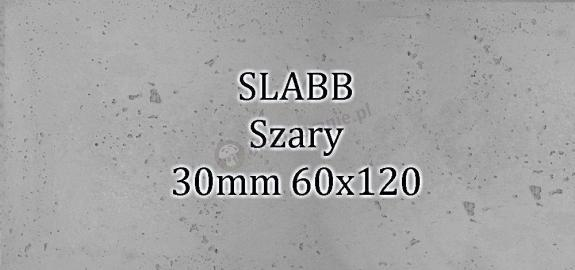 Beton architektoniczny - SLABB Szary 30mm 120x60cm