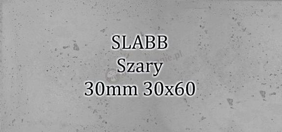 Beton architektoniczny - SLABB Szary 30mm 30x60cm