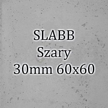 Beton architektoniczny - SLABB Szary 30mm 60x60cm