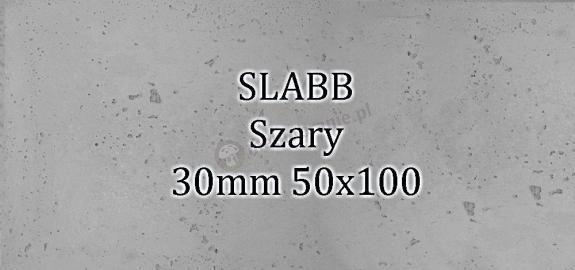 Beton architektoniczny - SLABB Szary 30mm 50x100cm