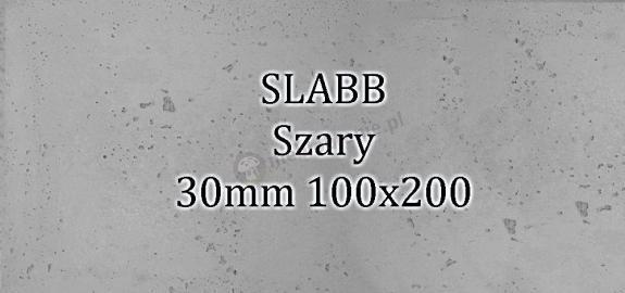 Beton architektoniczny - SLABB Szary 30mm 100x200cm