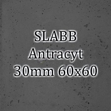 Beton architektoniczny - SLABB Antracyt 30mm 60x60cm