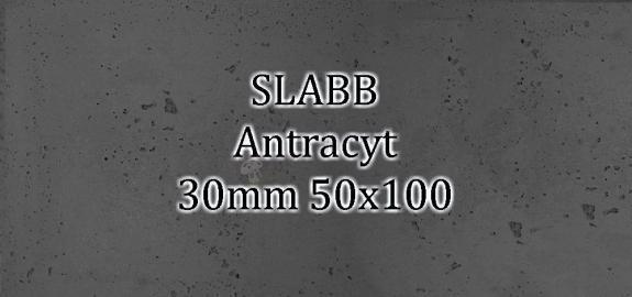 Beton architektoniczny - SLABB Antracyt 30mm 50x100cm