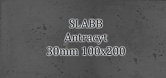 Beton architektoniczny - SLABB Antracyt 30mm 100x200cm