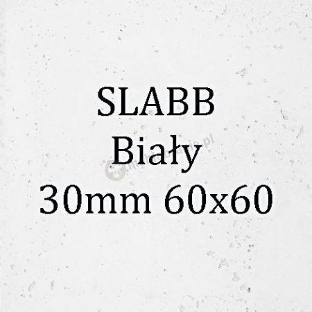 Beton architektoniczny - SLABB Biały 30mm 60x60cm