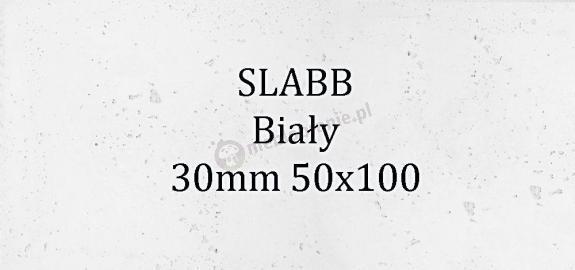Beton architektoniczny - SLABB Biały 30mm 50x100cm