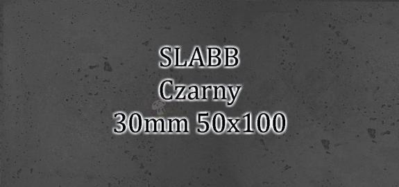 Beton architektoniczny - SLABB Czarny 30mm 50x100cm