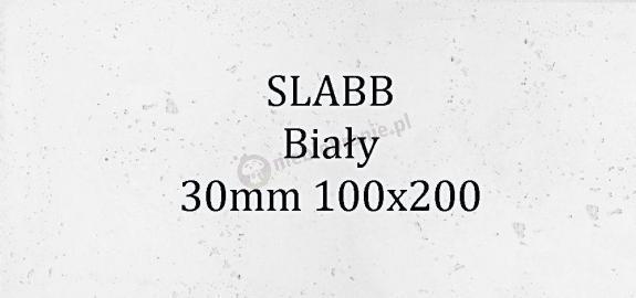 Beton architektoniczny - SLABB Biały 30mm 100x200cm