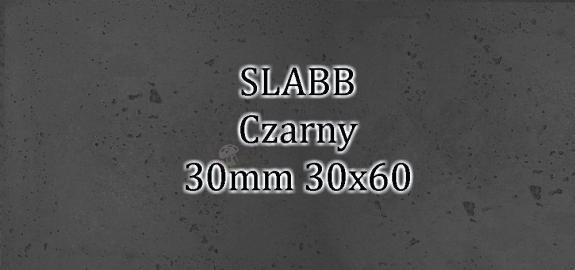 Beton architektoniczny - SLABB Czarny 30mm 30x60cm