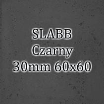Beton architektoniczny - SLABB Czarny 30mm 60x60cm