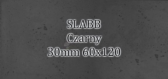 Beton architektoniczny - SLABB Czarny 30mm 120x60cm