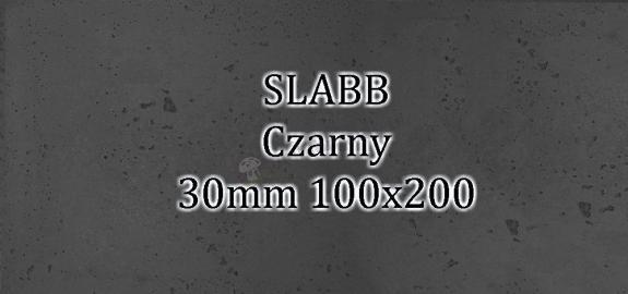 Beton architektoniczny - SLABB Czarny 30mm 100x200cm