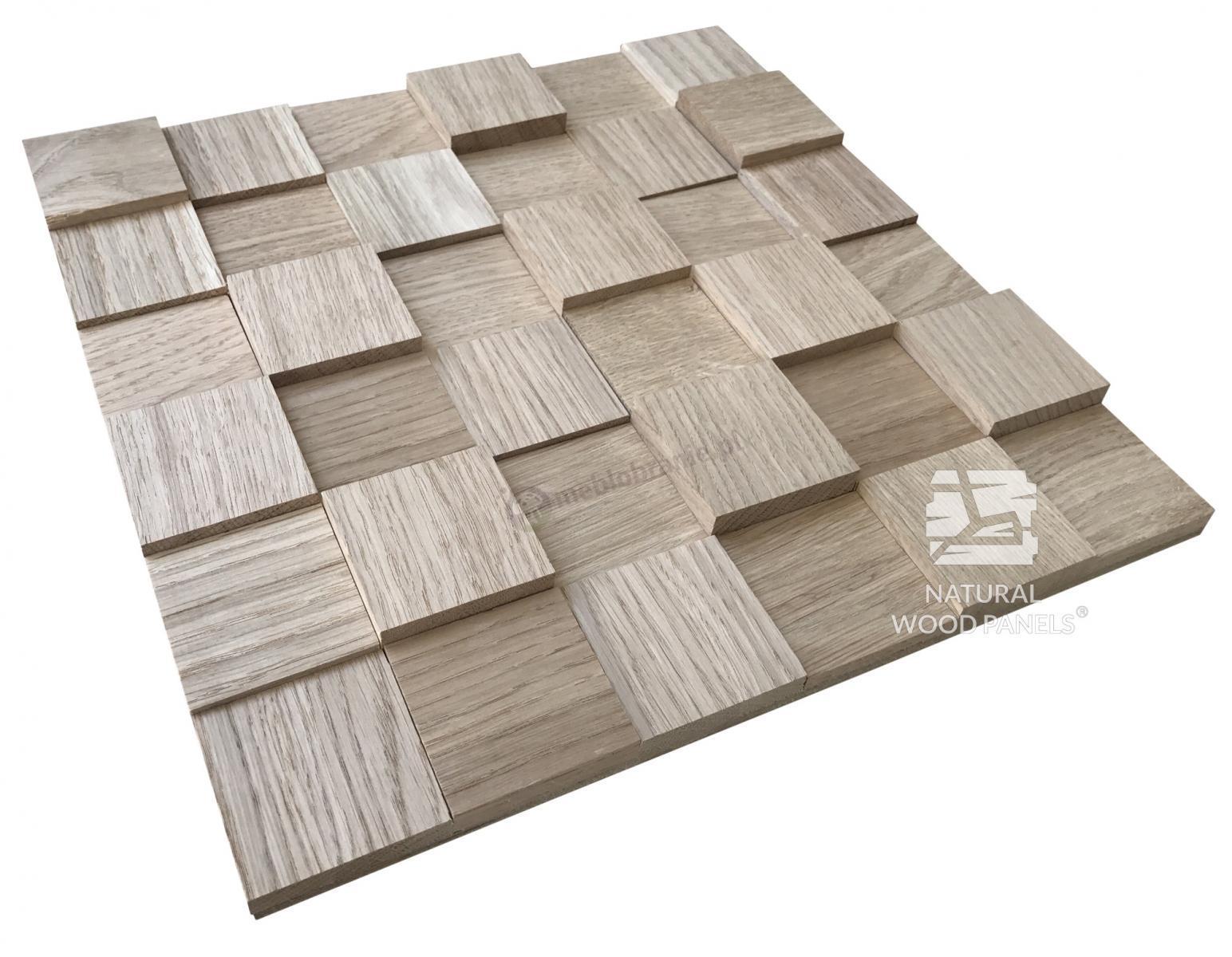 Dąb naturalny – surowy kostka gładka *044 Natural Wood