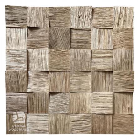 Panele drewniane Kostka Łupana DĄB 3D *039 - Natural Wood Panel