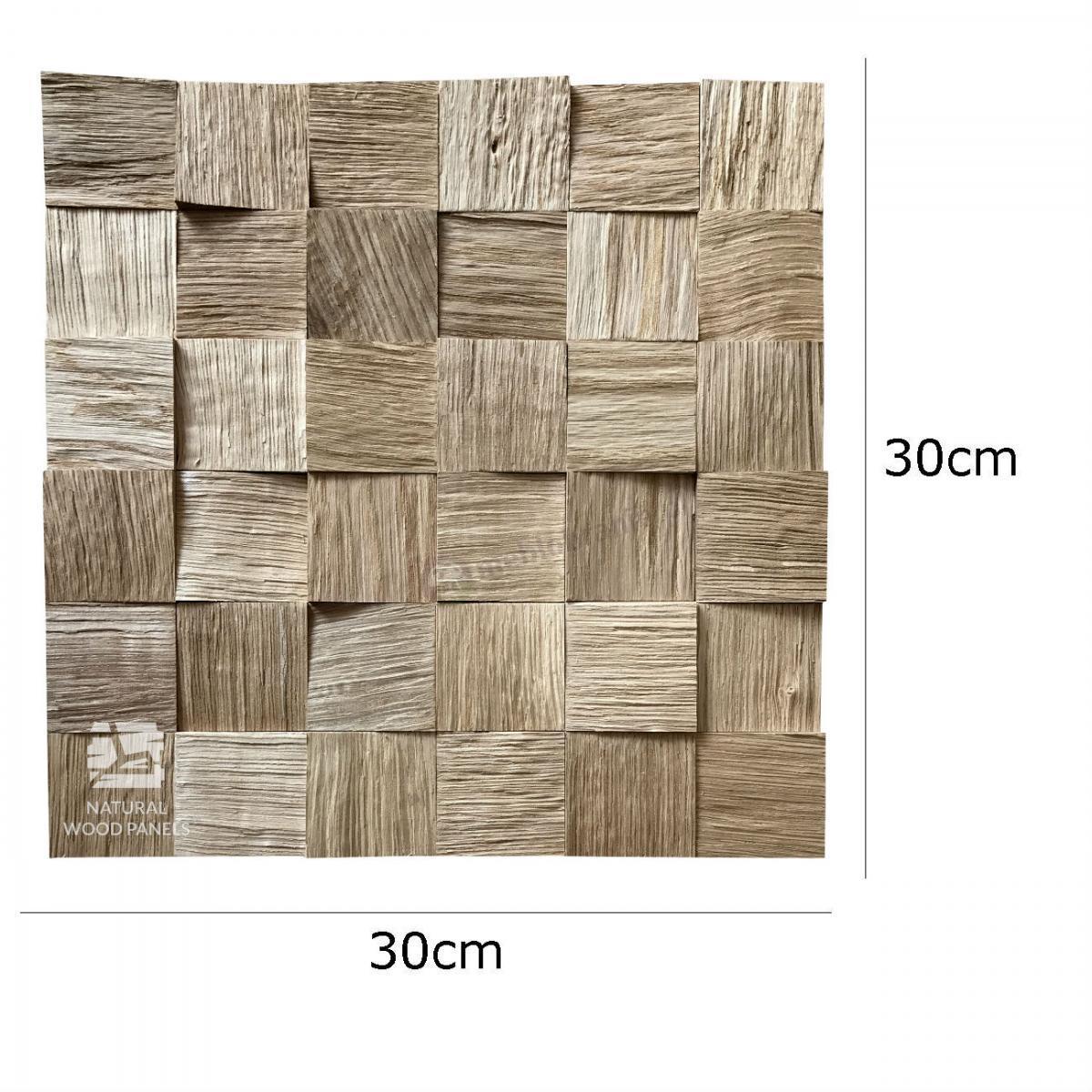 Natural Wood Panels Kostka Łupana DĄB
