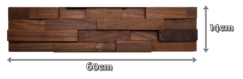 ORZECH AMERYKAŃSKI 35 cegiełka drobna 034 wymiary