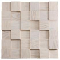 Dąb Bielony – kostka 3d *035 - Natural Wood Panels