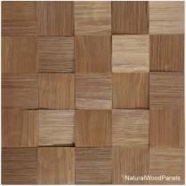 Jatoba – Kostka łupana 3D *023 - Natural Wood Panel