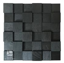 Dąb kostka 3D Black *050 - Natural Wood Panels