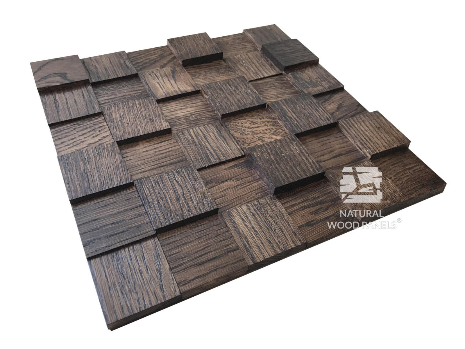 Natural Wood Panels - kostka