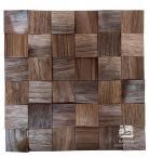 Orzech amerykański Kostka Łupana 3D *017 - Natural Wood Panel