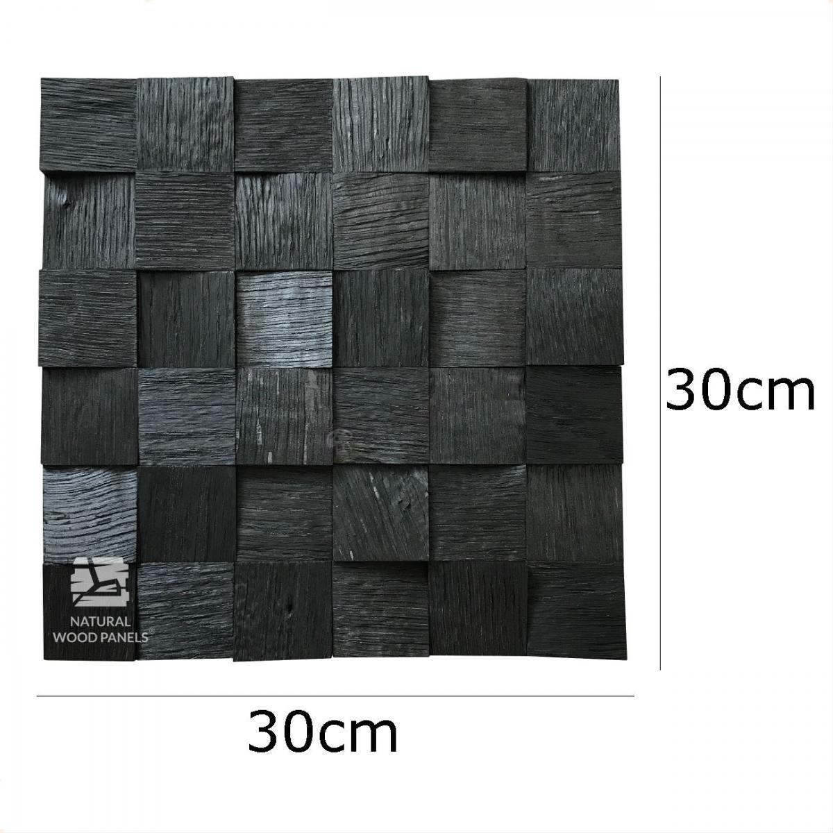 Dąb kostka 3D Black
