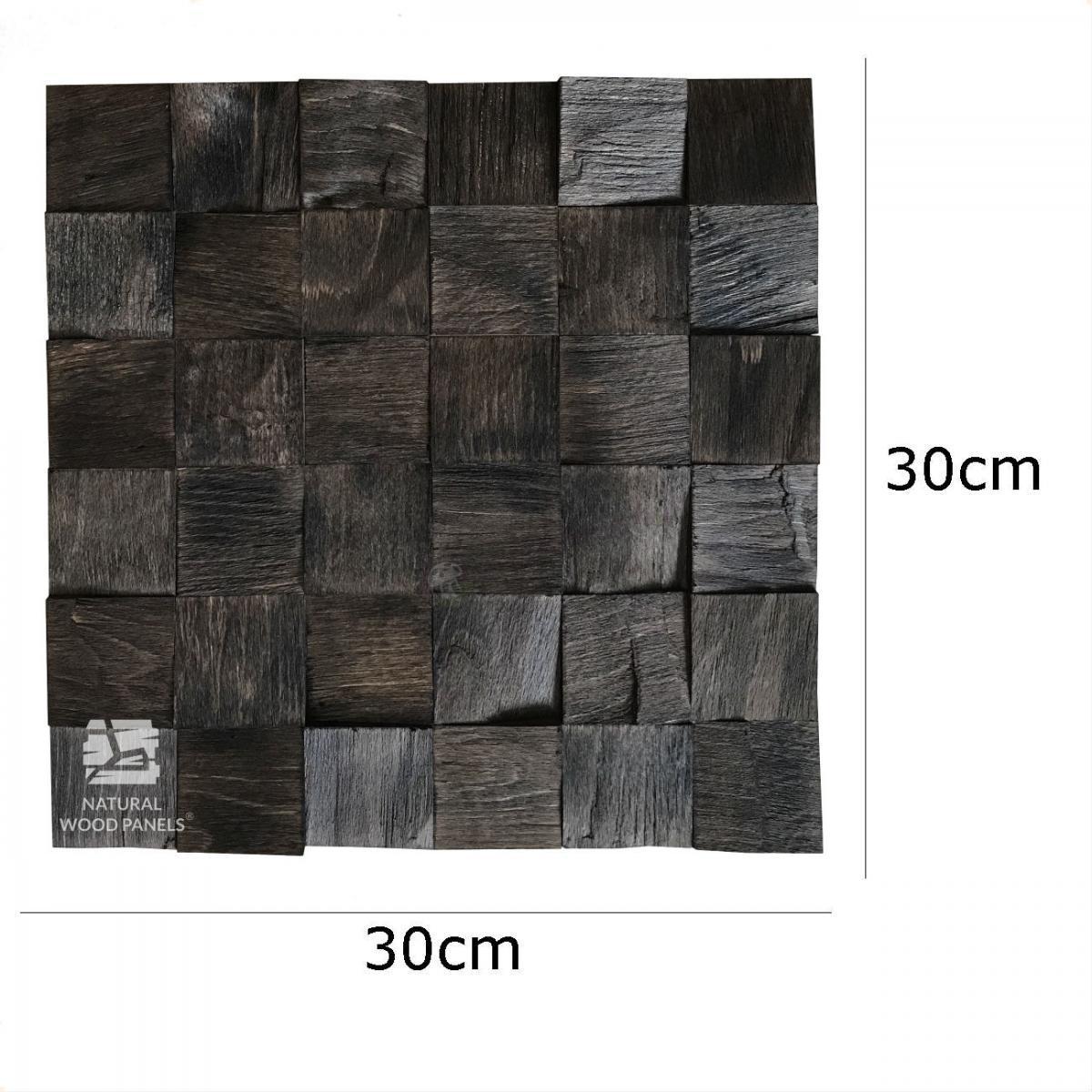 Buk rustikal Łupany kostka 3D *025