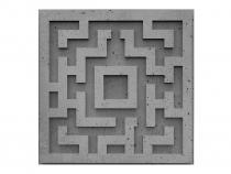 Panele dekoracyjne 3D Quest Gray Rock - ZICARO
